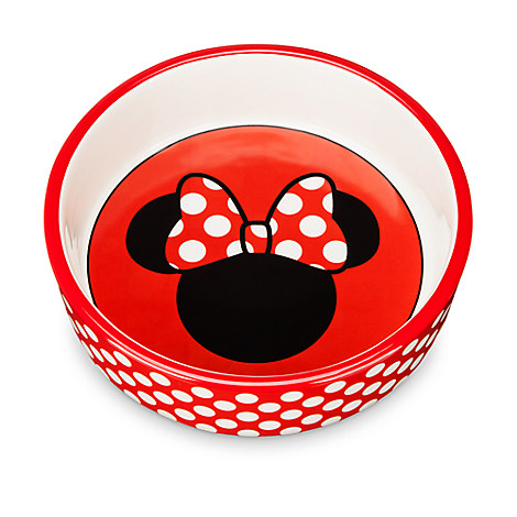 Minnie Mouse Ceramic Pet Bowl