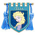 Elsa Banner Pin - Frozen