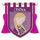 Anna Banner Pin