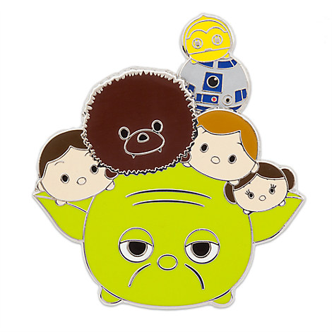 Star Wars Heroes ''Tsum Tsum'' Pin