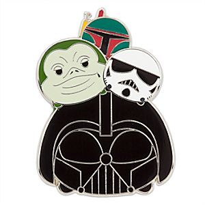 Star Wars Villains ''Tsum Tsum'' Pin 7511057370238P