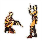Cassian Jeron Andor and Jyn Erso Pin Set - Star Wars