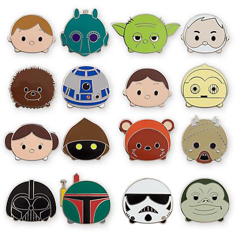 Star Wars ''Tsum Tsum'' Series 1 Mystery Pin Pack