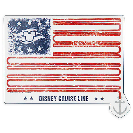 Disney Cruise Line Americana Auto Magnet