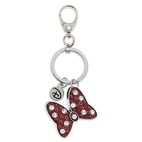 Minnie Mouse Bow Keychain by Disney Boutique