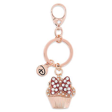 Minnie Mouse Bow Cupcake Keychain by Disney Boutique