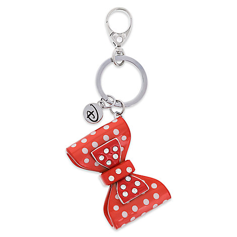 Minnie Mouse Double Bow Keychain by Disney Boutique