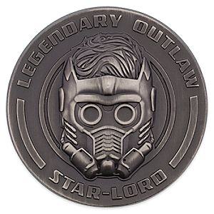 Star-Lord Sculptured Pin - Guardians of the Galaxy Vol. 2 7511057370263P