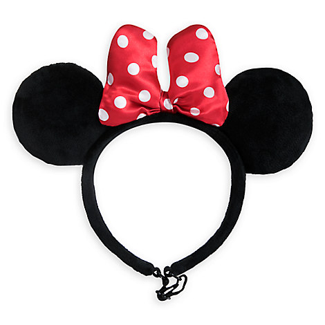 Minnie Mouse Ear Headband for Dogs