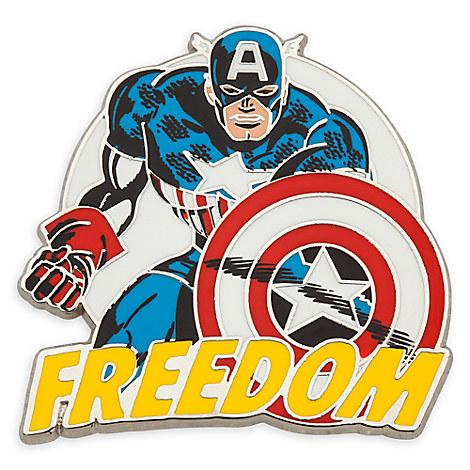 Captain America Pin