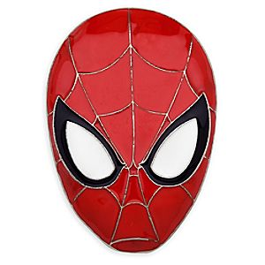 Spider-Man Dimensional Mask Pin