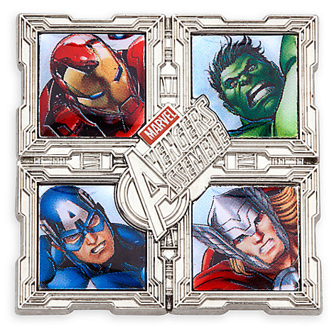 Avengers Assemble Team Pin