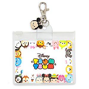 "Disney ""Tsum Tsum"" Pin Lanyard Pouch with Charm"