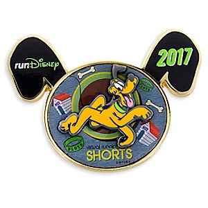Pluto Virtual Run Pin - runDisney 2017 - Limited Release
