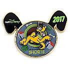 Pluto Virtual Run Pin - runDisney 2017 - Limited Release