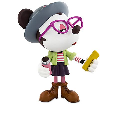 Hipster Minnie Special Edition Vinylmation Figure - WonderGround Gallery - 9''