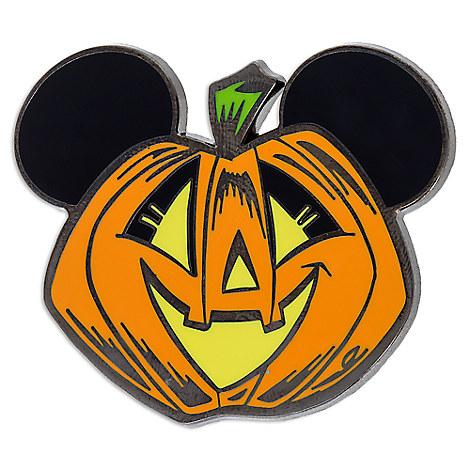 Mickey Mouse Pumpkin Pin