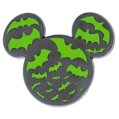 Mickey Mouse Icon Bat Pin