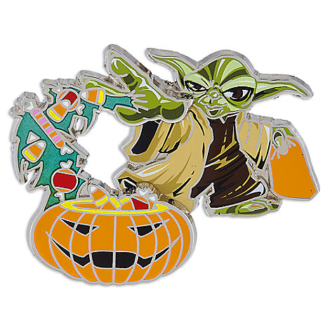 Yoda Halloween Pin - Star Wars