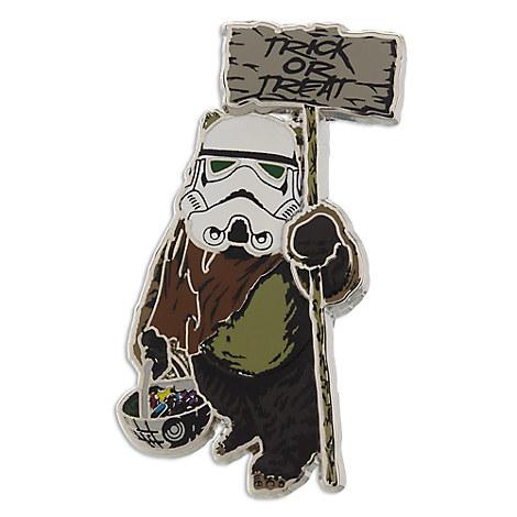 Ewok Halloween Pin - Star Wars