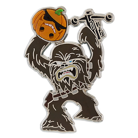 Chewbacca Halloween Pin - Star Wars