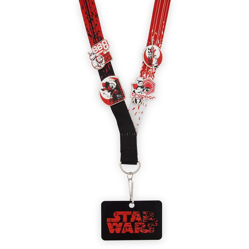 Star Wars: The Last Jedi Pin Trading Starter Set