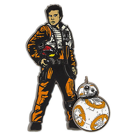 Poe Dameron & BB-8 Pin - Star Wars: The Last Jedi