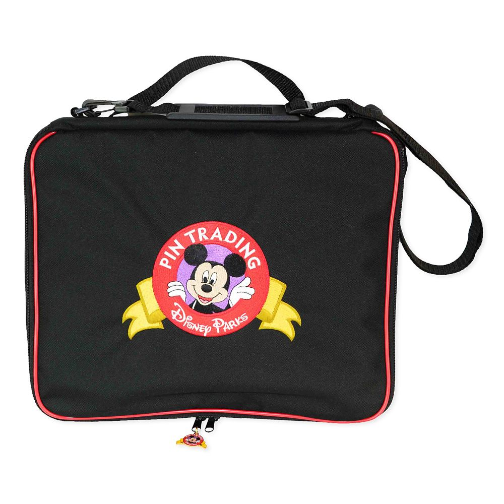 Mickey Mouse Pin Trading Bag – Disney Parks – Large