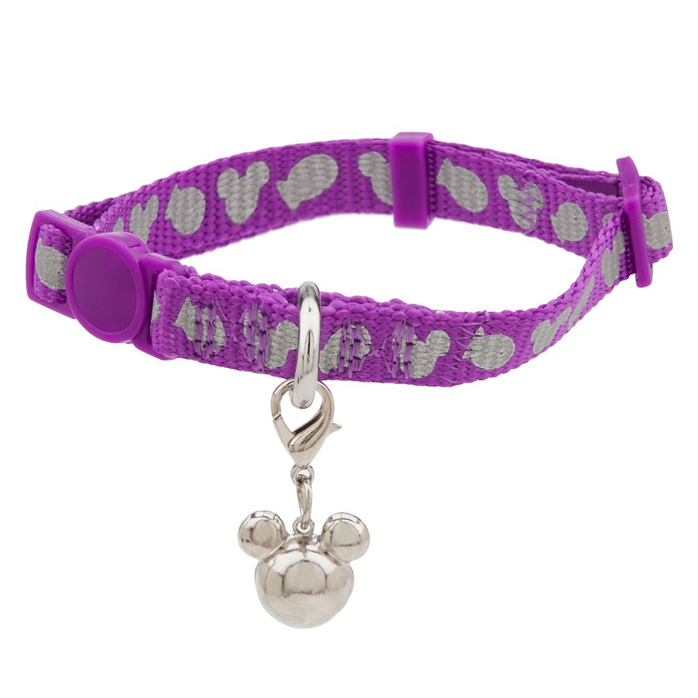 Mickey Mouse Icon Reflective Cat Collar