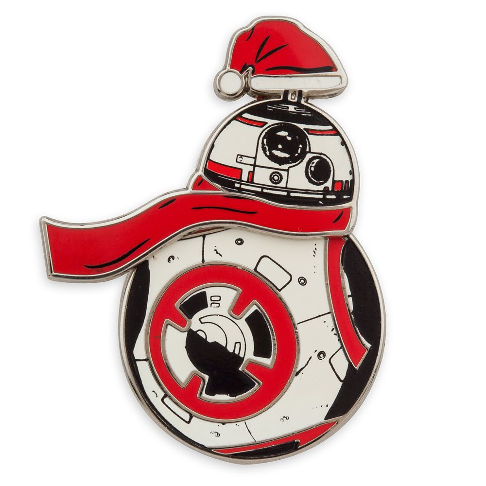 BB-8 Holiday Spinning Pin