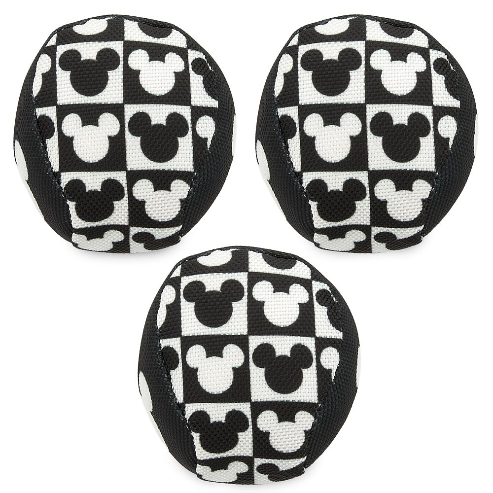 Mickey Mouse Chew-Toy Ball Set for Dogs – Disney Tails