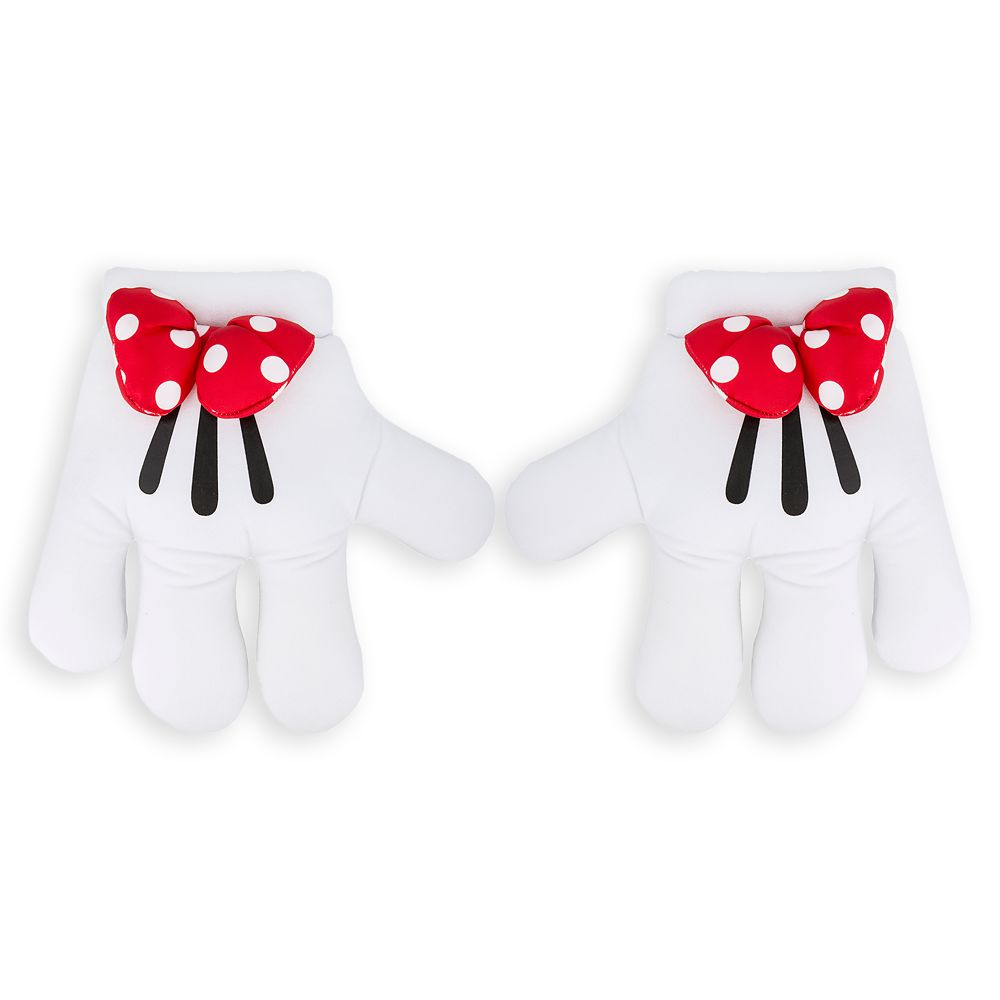 Minnie Mouse – Minnie Mitts Plush Gloves with Bows