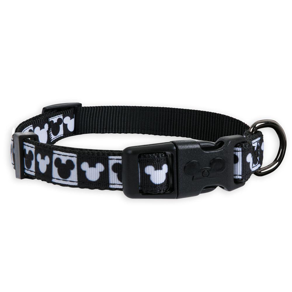 Mickey Mouse Checkered Dog Collar