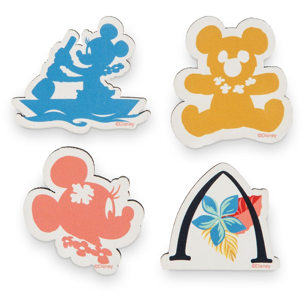 Minnie Mouse Wooden Magnets Set – Aulani, A Disney Resort & Spa