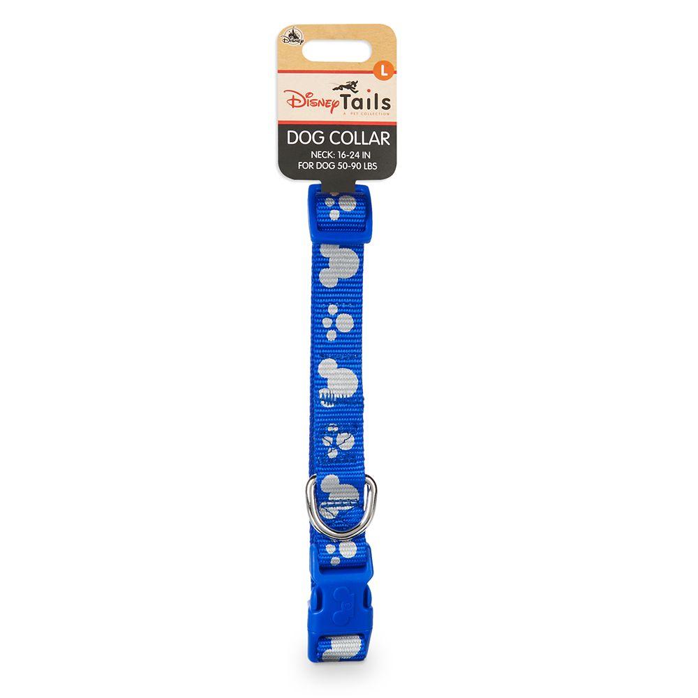 Mickey Mouse Reflective Dog Collar – Blue