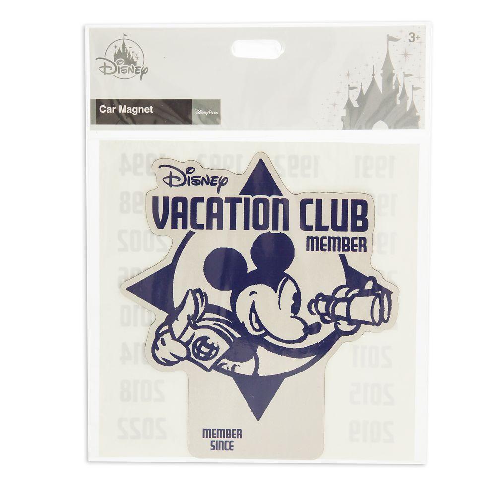 Disney Vacation Club Member Car Magnet