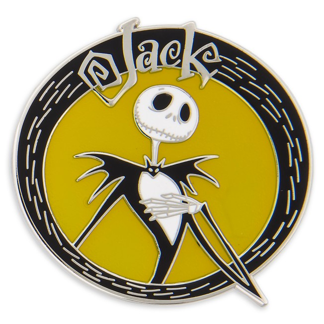 Jack Skellington Pin