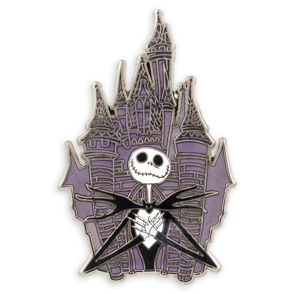 Jack Skellington at Fantasyland Castle Pin