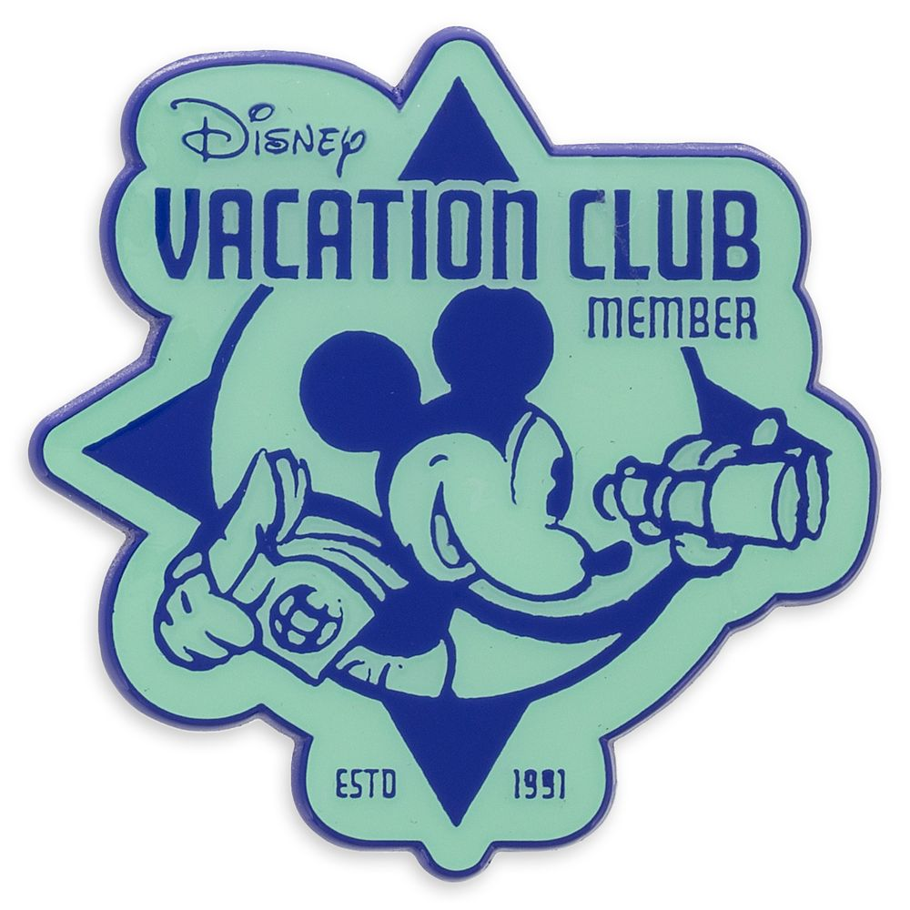 Mickey Mouse with Disney Vacation Club Logo Pin