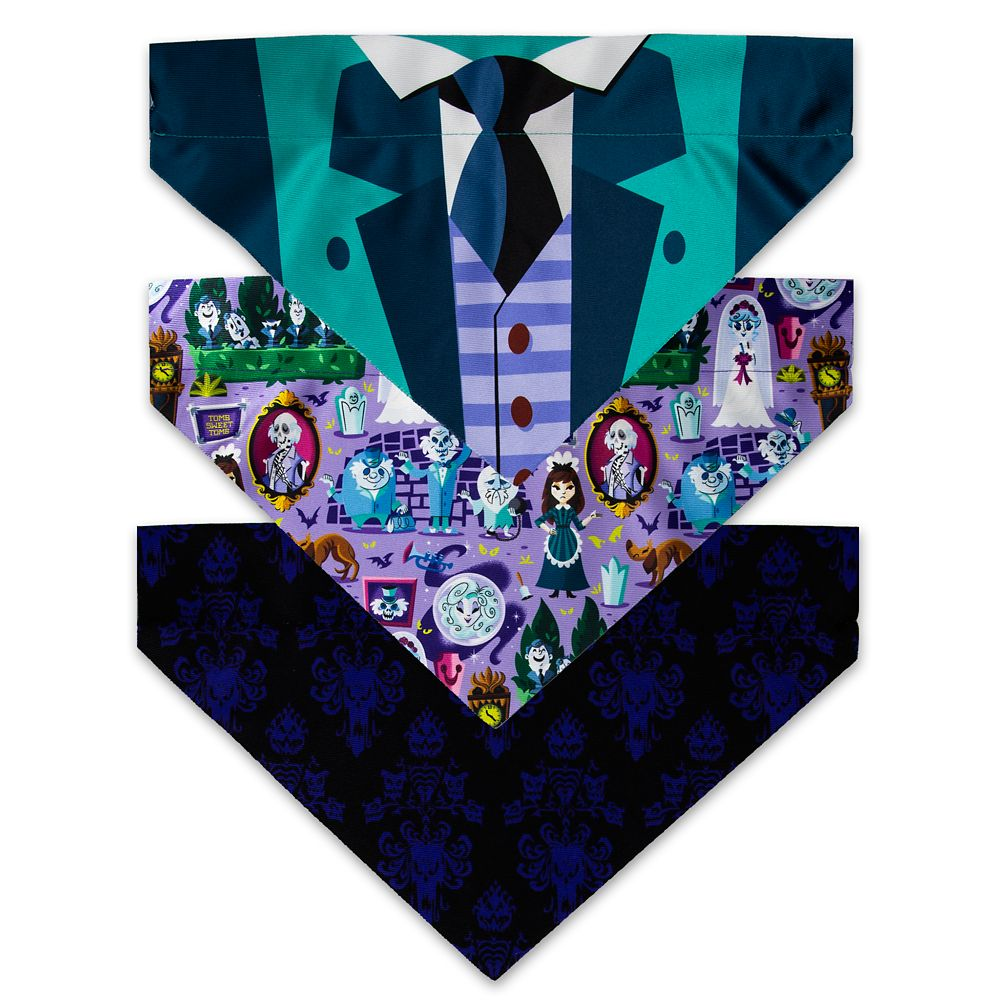 The Haunted Mansion Dog Bandana Set