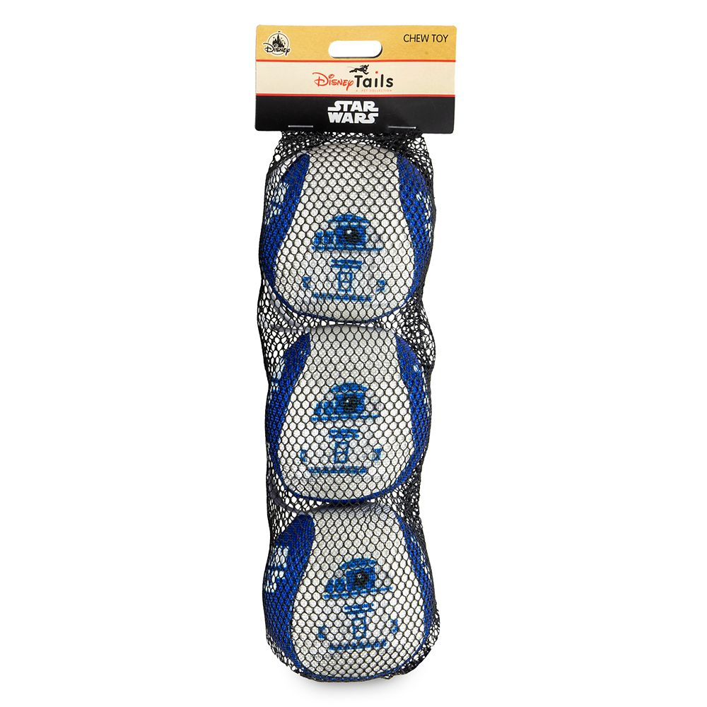 R2-D2 Chew-Toy Ball Set for Dogs – Star Wars