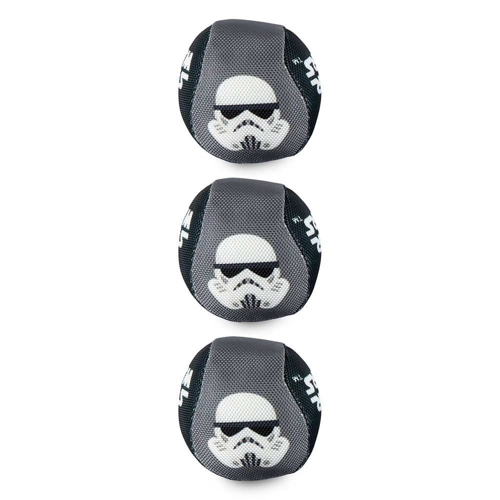 Stormtrooper Chew-Toy Ball Set for Dogs – Disney Tails