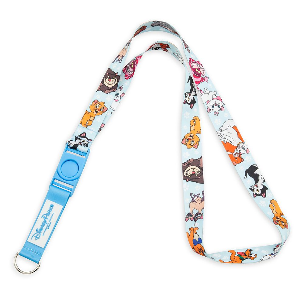 Disney Dog and Cats Reversible Lanyard