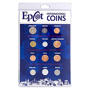 Epcot International Coin Set - Walt Disney World