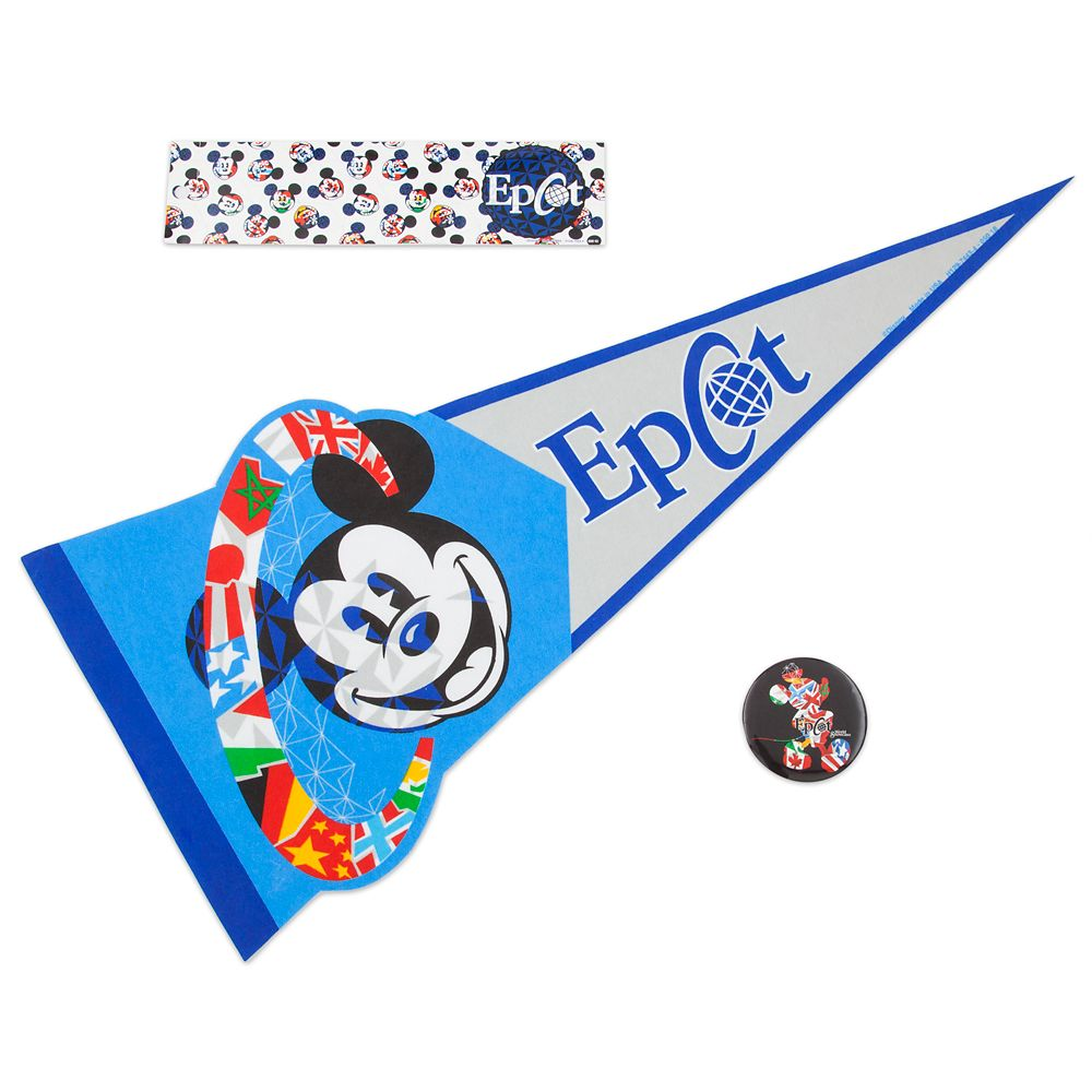 Mickey Mouse Epcot Fan Pack