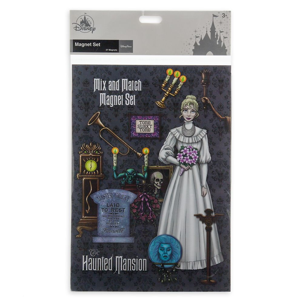 The Haunted Mansion Magnet Set