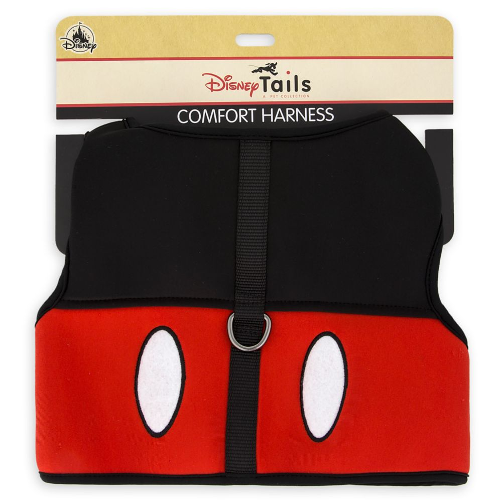 Mickey Mouse Costume Pet Harness