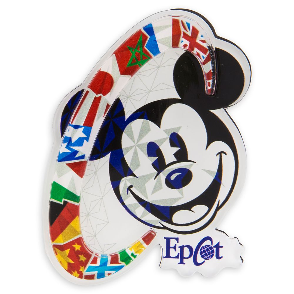 Mickey Mouse Epcot Magnet