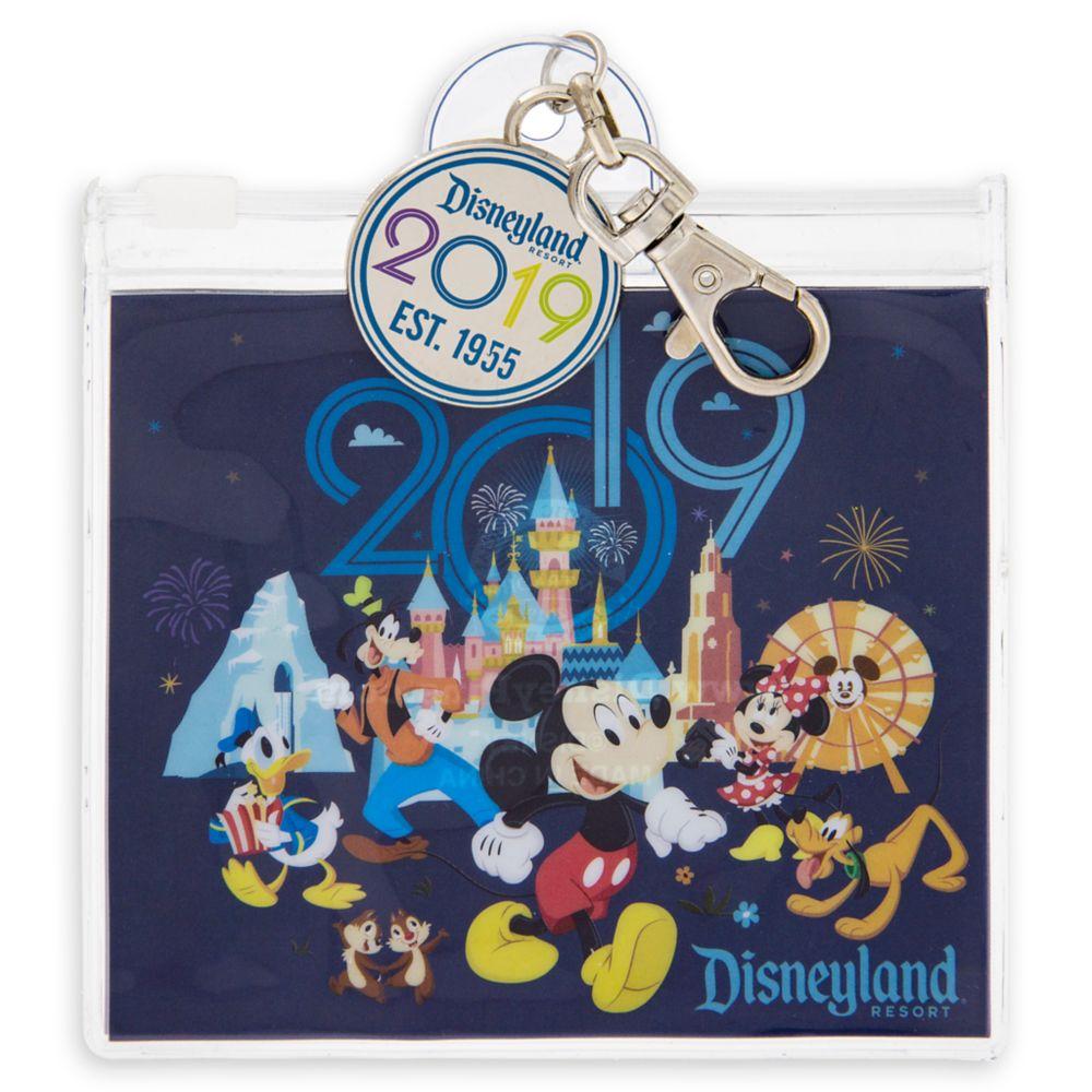 Disneyland Resort Pin Trading Pouch  2019