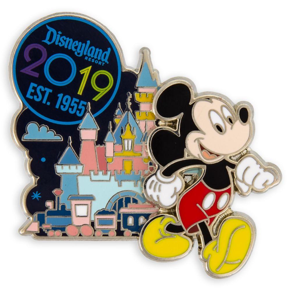 Mickey Mouse Disneyland Resort Pin – 2019